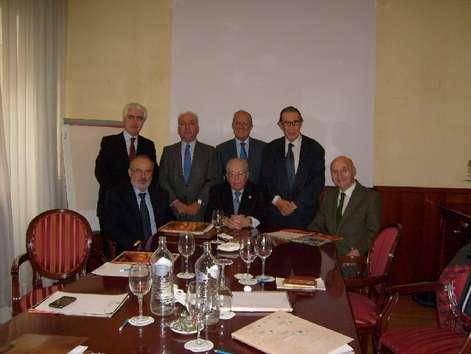 Los miembros de jurado