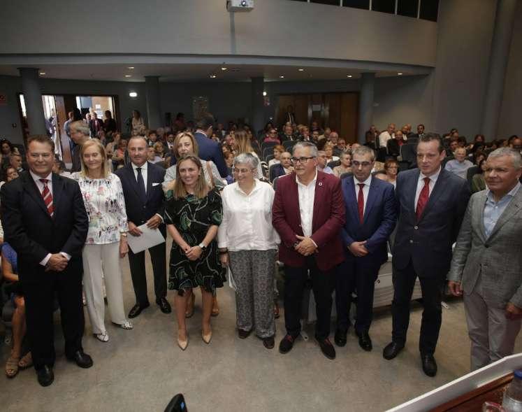 Entrega del premio a María Calvo